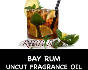 Pure Bay Rum Uncut Fragrance Oil - FREE SHIPPING SHIP