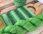 Petrichor - Self Striping Yarn - Fingering Weight