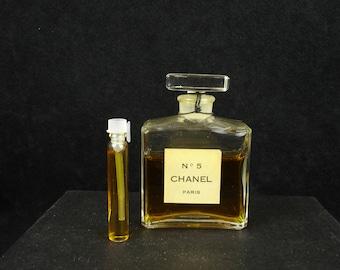 Vintage, 1970's, Chanel No.5, Eau De Parfum, Chanel, rare, old parfum, Vial/Spray,  discontinued, old formula, hard to find