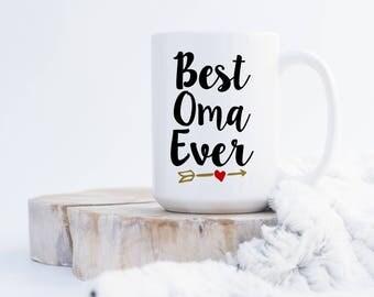 Best Oma Ever (any name) Coffee Mug