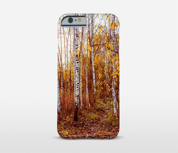 Red Forest iPhone Cases, Nature Photography, Birch Trees, Tree Phone Case, Samsung Case, Moto Cases and more models.
