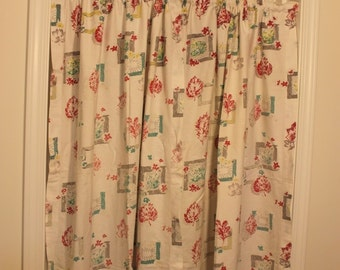 Pair of Cotton Curtain Panels