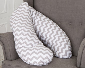"Puckdaddy Nursing Pillow ""Chevron"""