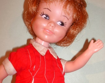 "Vintage Deluxe Reading 8"" PENNY BRITE Cute Posing Doll"