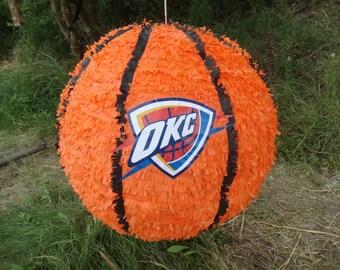 Basketball pinata, soccer pinata, volleyball pinata, sports pinata, personalized ball pinata