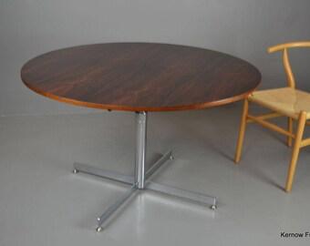 Retro Mid Century Rosewood Metamorphic Dining Coffee Table