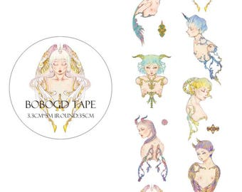 Fairy  Washi Tape/Japanese Washi Tape / Deco tape TZ1775