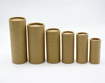 10 x Oil bottle packaging gift box paper tube packing box paper tube box with lid round paper cardboard  TZ1815