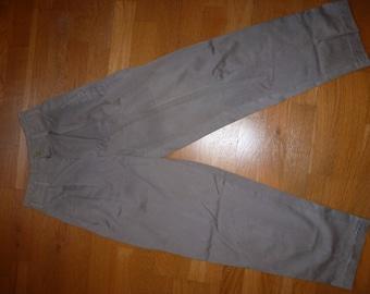 vintage high waist pleated pants