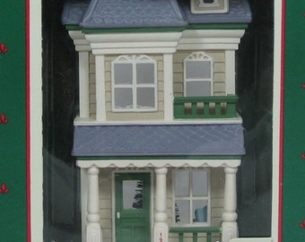 1987 Hallmark House on Main Street Keepsake Ornament Nostalgic Houses and Shops Series #4 4th in Series St. Vintage Christmas