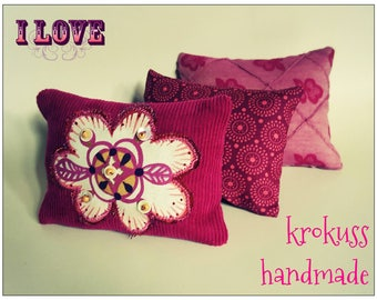 krokuss pillow set for Blythe or similar dolls