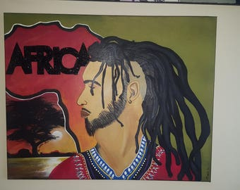 "Black art ""Of African descent"""