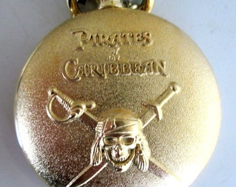 Disney PIRATES of the CARIBBEAN Promotional Pocket Watch At World's End Watch