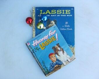 Lassie, Hooray for Lassie, Vintage Tell a Tale 2414, 1964