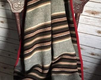 Pendleton Blanket  Pendleton Beaver State Blanket  Wool Blanket   Vintage Pendleton Vintage Beaver State