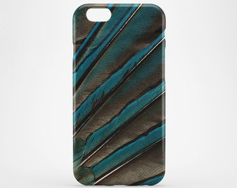 Peacock Feather iPhone 8 Case iPhone X Case Phone Cover iPhone 7 Plus iPhone 6 Case iPhone 7 iPhone SE Case iPhone 5 Cover Galaxy S7 S8 Case