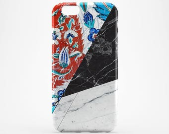 Morocco iPhone 7 Marble iPhone 6S Case Galaxy Tile Case iPhone 5S Cover iPhone 7 Plus Moroccan iPhone 4-5 Case iPhone SE Marble Xperia Case