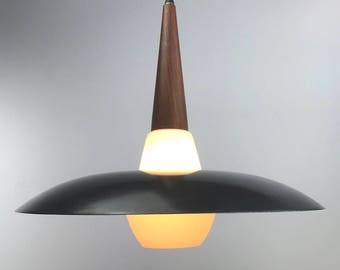 Classic LYFA ceiling light from the late 1950s.