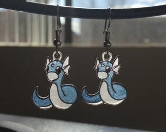 Dratini - Pokemon Earrings