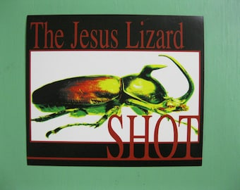RARE Jesus Lizard SHOT Promotional Sticker