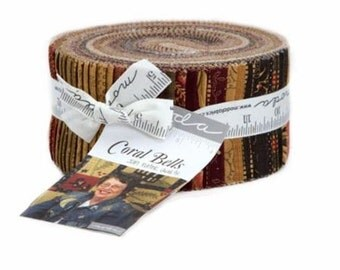 Coral Bells Jelly Roll from Moda Fabrics by the roll