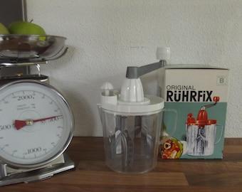 Ruhrfix, 1960s hand mixer, kitchen nostalgia