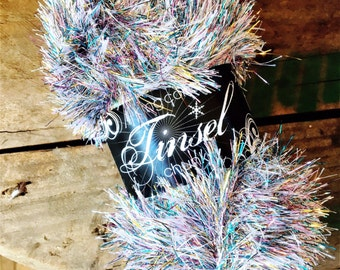King Cole Tinsel Chunky, Argent
