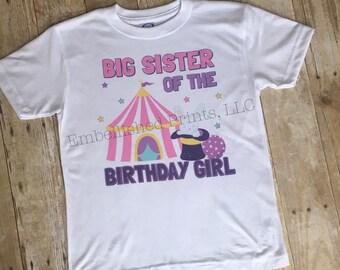 Circus/Carnival Themed Birthday Shirt
