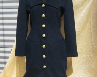 Vintage coat dress | Etsy