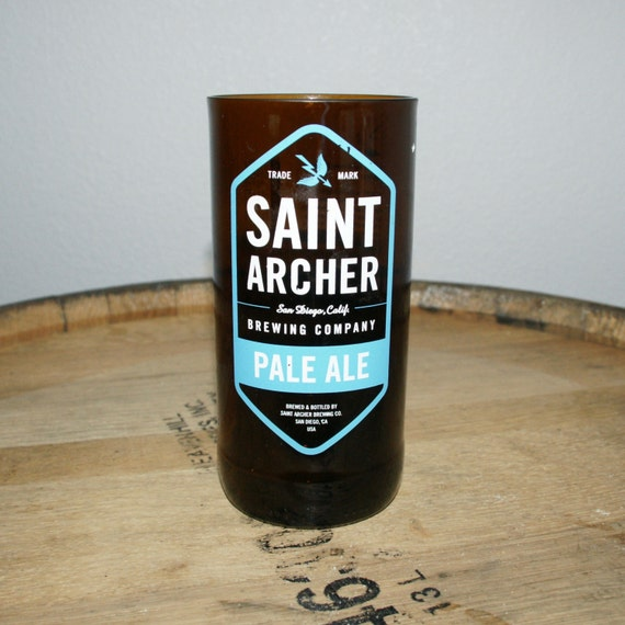 UPcycled Pint Glass - Saint Archer - Pale Ale