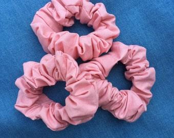 Baby Pink Scrunchie