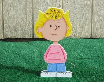 Peanuts Sally Yard Sign