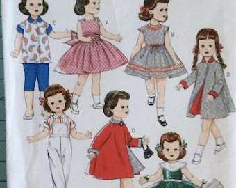 """Butterick 5865 18"""" Doll Clothes"""