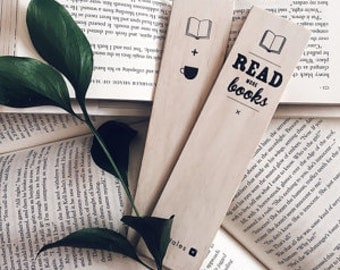 TWOSIE BUNDLE - wooden bookmarks.