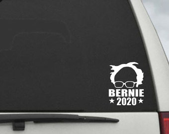 Bernie Sanders   2020 Campaign Election President Decal - Car Window Decal Sticker