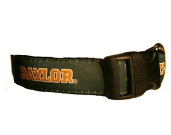 University of Baylor  Dog Collar