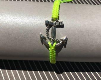Anchor Adjustable Bracelet / Friendship Bracelet