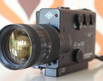 AGFA Movexoom mos electric retro vintage super 8 kodak 8mm movie cine film camera 1980s