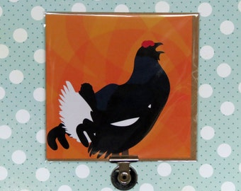 Black Grouse Greeting Card