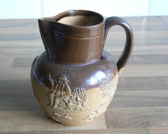 Doulton Lambeth Harvest Jug -  Holding One and a Half Pints Approiximately