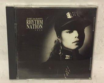 Janet Jackson Rhythm Nation 1814 CD 1989