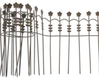 Fairy Garden  - Brown Wire Fence - Miniature
