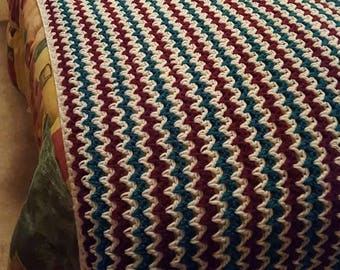 Crochet Bed Scarf