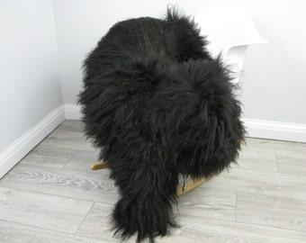 Genuine Icelandic sheepskin rug, single, G457
