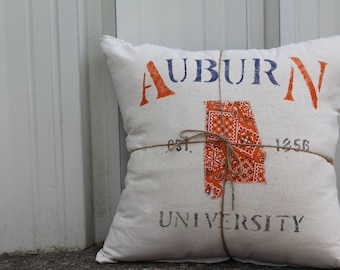 Hometown Auburn University Pillow