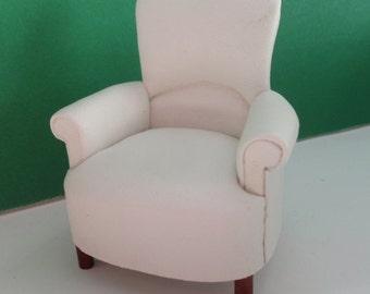 1/12 Scale Dollhouse Roombox Diorama Padded Pub Chair Jbm J5002