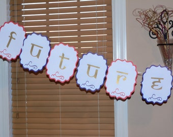 Bridal Shower Banner, Bride to be Banner, Future Mrs. Banner