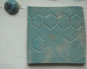 Bee Tile Etsy