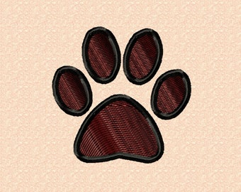 Paw 35mm - embroidery