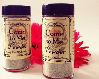 Come To Me Traditional Hoodoo Spell Powder for Body and Home